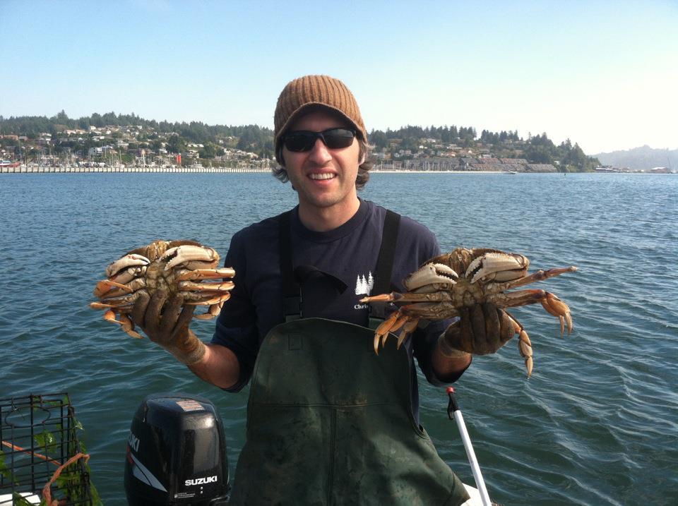 crabbing in alaska dungeness crab