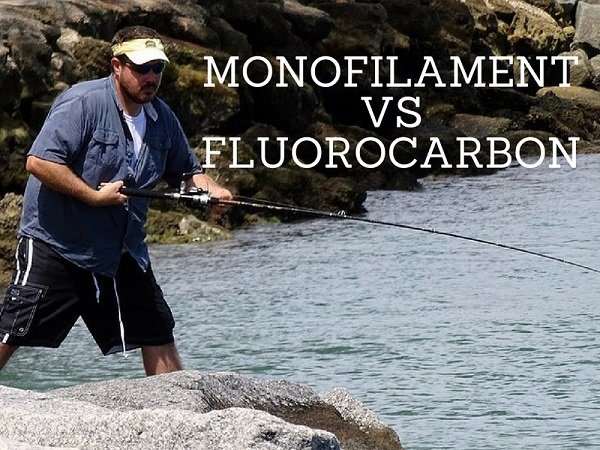 difference between monofilament and fluorocarbon fishing line