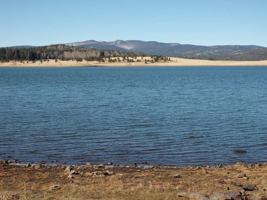 Big Lake arizona trout fishing