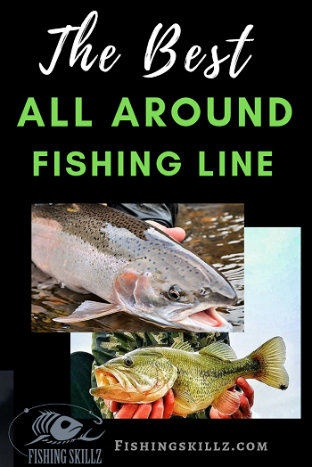 largemouth bass and steelhead caught with the best all around fishing line