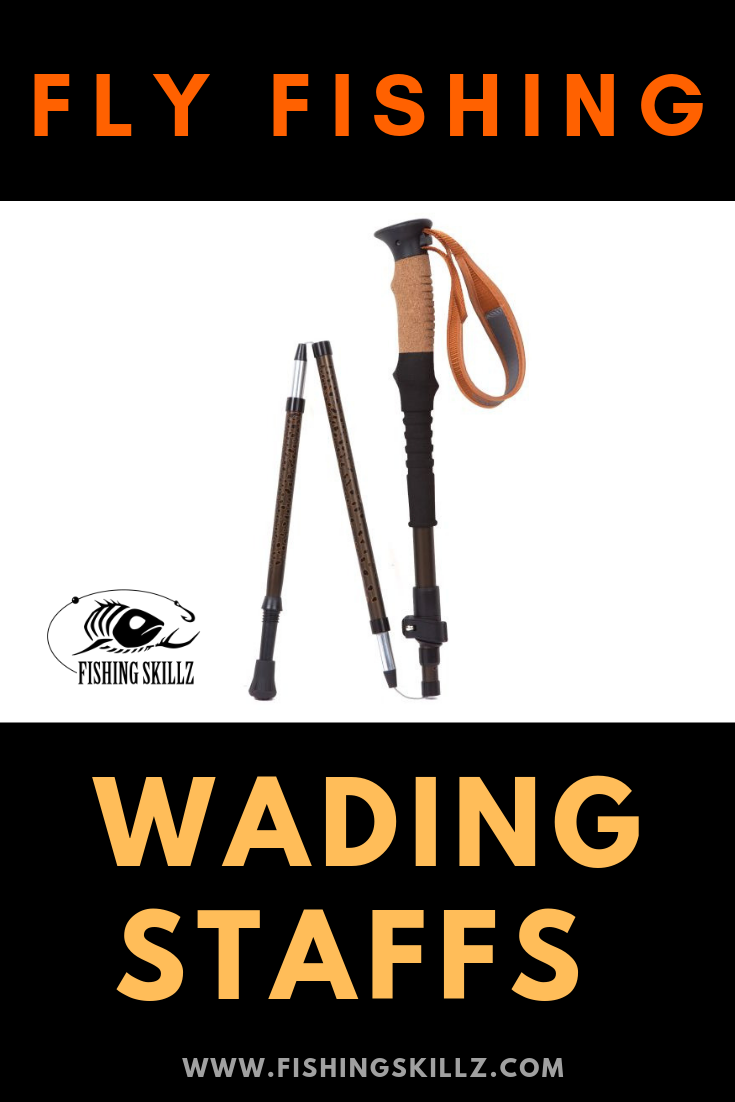 wading staff walking stick