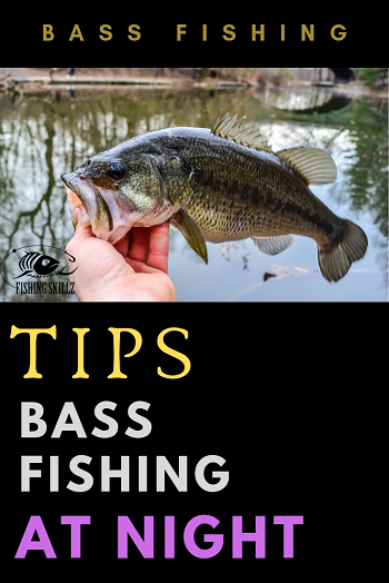 bass fishing tips night time