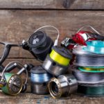 fishing line and spinning reels