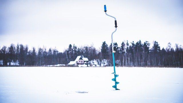 hand auger for ice fishing