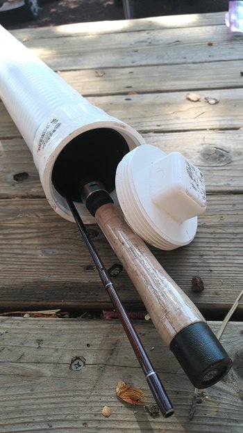 501b08a24969 3 Tips For Traveling With Fishing Rods (FREE DIY Rod Tube Instructions)
