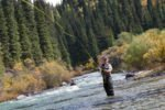 fly fishing for trout in washington state