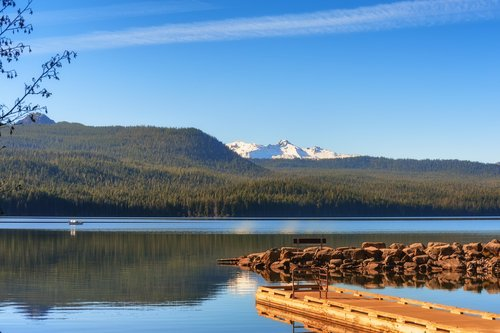 best fishing lakes in oregon