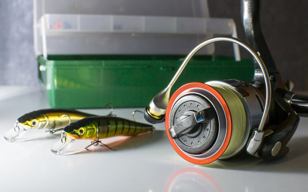 fishing line and lures