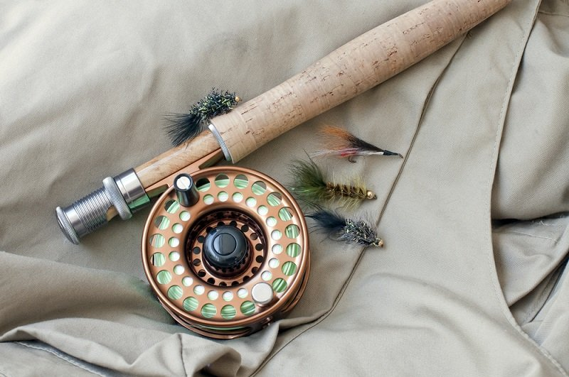 fly rod and reel for stillwater