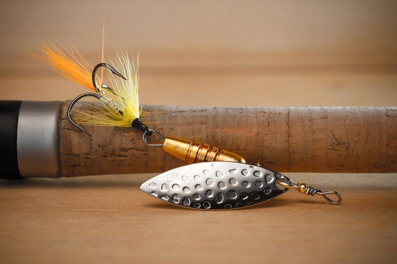 a spinner like the rooster tail is one of the best trout lures of all time